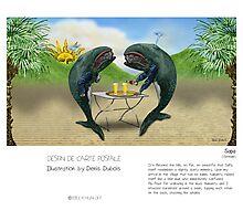 """Sapa"" in words & image (Denis Dubois) Photographic Print"