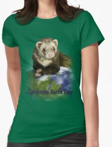 Celebrate Earth Day Ferret T-Shirt