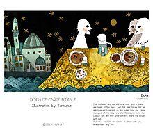 """Baku"" in words & image (Tarmasz) Photographic Print"