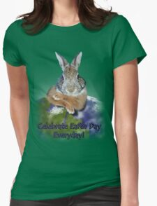 Celebrate Earth Day Everyday Rabbit T-Shirt