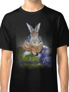 Celebrate Earth Day Bunny Classic T-Shirt