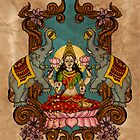 LAKSHMI - GODESS OF WEALTH by ramanandr