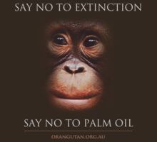 Say No to Extinction by The Orangutan Project