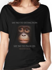 Say No to Extinction Women's Relaxed Fit T-Shirt