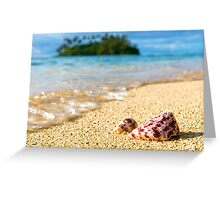 Shell Tide Greeting Card