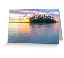 The Perfect Sunrise Greeting Card