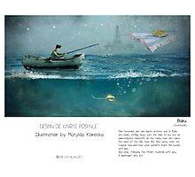 """Baku"" in words & image (M.Konecka) Photographic Print"