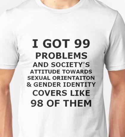Queer Problems. Unisex T-Shirt