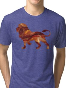 Lion Bacon Tri-blend T-Shirt