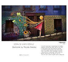 """Valparaiso"" in words & image (M.Konecka) Photographic Print"