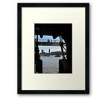 Thames Gothic Framed Print