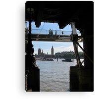 Thames Gothic Canvas Print