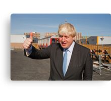 Boris Johnson Canvas Print