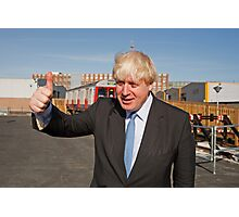 Boris Johnson Photographic Print