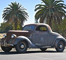 1936 Ford Coupe  by DaveKoontz