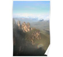 The Three Sisters, Blue Mountains - Australia Poster