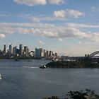Sydney Skyline by Nicola Barnard
