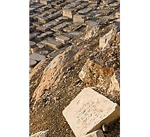 Mount Olives Photographic Print