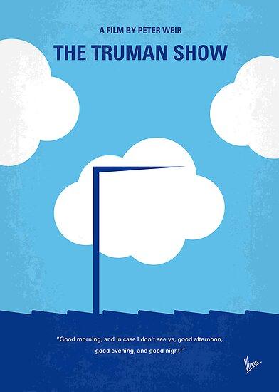 No234 My Truman show minimal movie poster by Chungkong
