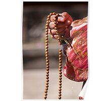 Asian Prayer Beads Poster