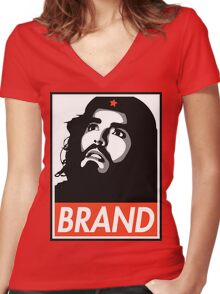 Russell Brand is CHE GUEVARA  Women's Fitted V-Neck T-Shirt