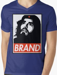 Russell Brand is CHE GUEVARA  Mens V-Neck T-Shirt