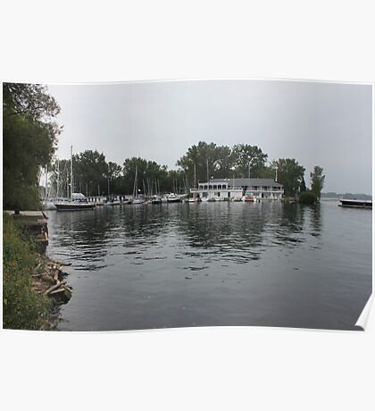 Reflections on Lake Ontario Poster