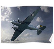 Douglas DC-3 Dakota  Poster