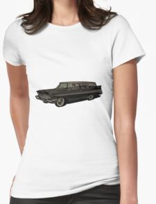 1957 Plymouth Belvedere Sport Suburban Womens Fitted T-Shirt