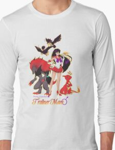 Pretty Guardian Trainer Mars Long Sleeve T-Shirt