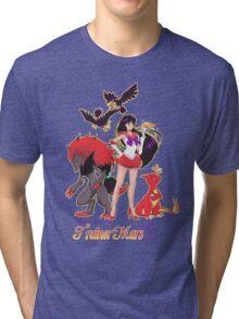 Pretty Guardian Trainer Mars Tri-blend T-Shirt