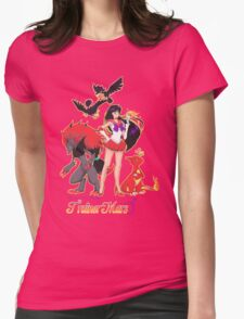Pretty Guardian Trainer Mars Womens Fitted T-Shirt