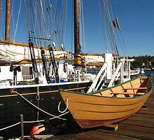Last Of The Dory Fishermen ~ Gloucester, Massachusetts by artwhiz47