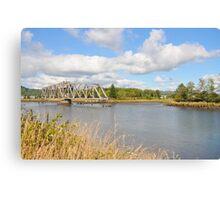Bridge in Washington State Canvas Print