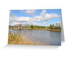 Bridge in Washington State Greeting Card