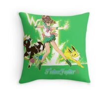 Pretty Guardian Trainer Jupiter Throw Pillow