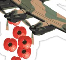 Lancaster Poppy Drop Sticker