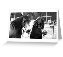 Lucy & Julie Greeting Card