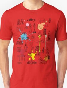 History of Art (w/ paint splashes) Unisex T-Shirt