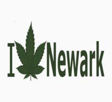 0148 I Love Newark by Ganjastan