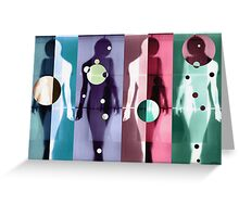 Body Language 6 Greeting Card