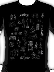 History of Art (dark tee) T-Shirt