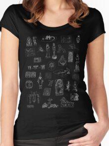 History of Art (dark tee) Women's Fitted Scoop T-Shirt