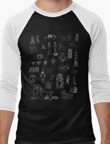 History of Art (dark tee) Men's Baseball ¾ T-Shirt