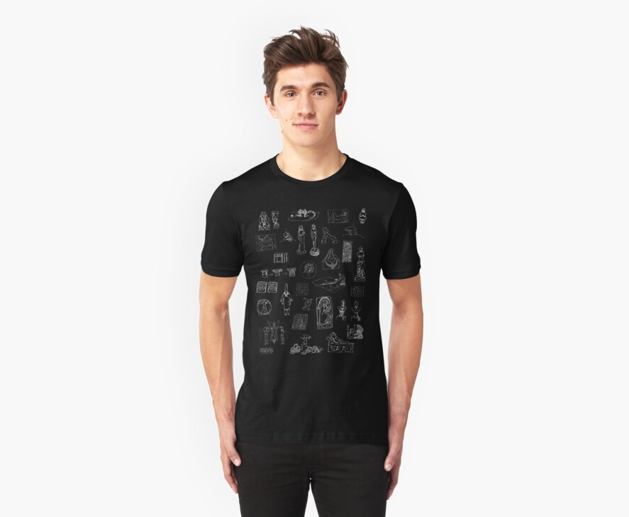 History of Art (dark tee) by NDVs