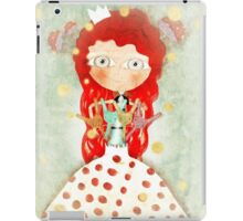 Red hair mushroom doll and company iPad Case/Skin