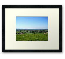 English Countryside - UK Framed Print