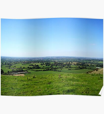 English Countryside - UK Poster