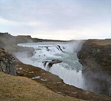 Gullfoss - Iceland by Nicola Barnard