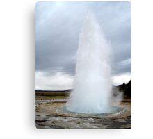 Strokkur Eruption - Iceland Canvas Print